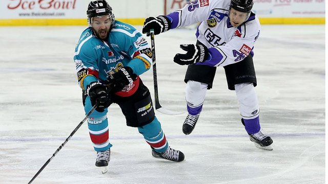 Belfast Giants hat-trick hero Colin Shields