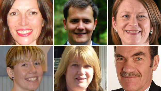 Dunfermline by-election candidates