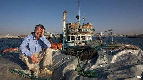 Michael Palin in 80 Days Around The World