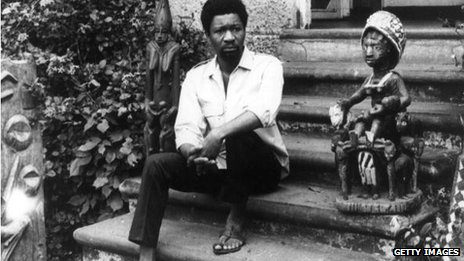 Wole Soyinka pictured in 1969