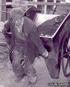 Brymbo steelworker in 1964