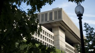 A view of the Federal Bureau of Investigation headquarters in Washington, DC in May 2013