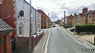 Bond Street and Wesley Road in Trowbridge, Wiltshire