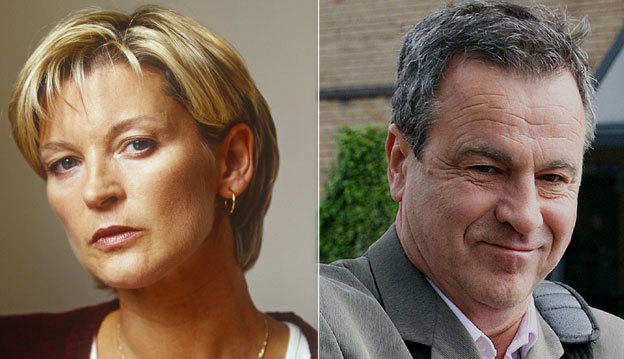 Gillian Taylforth and Geoff Knights