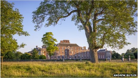 Wimpole Hall in Cambridgeshire