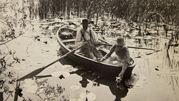 Norfolk Broads print by Peter Henry Emerson