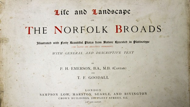 Page from Emerson's The Norfolk Broads