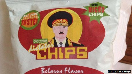 Packet of Dictator Chips - Belarus flavour