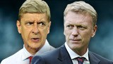 Arsene Wenger and David Moyes