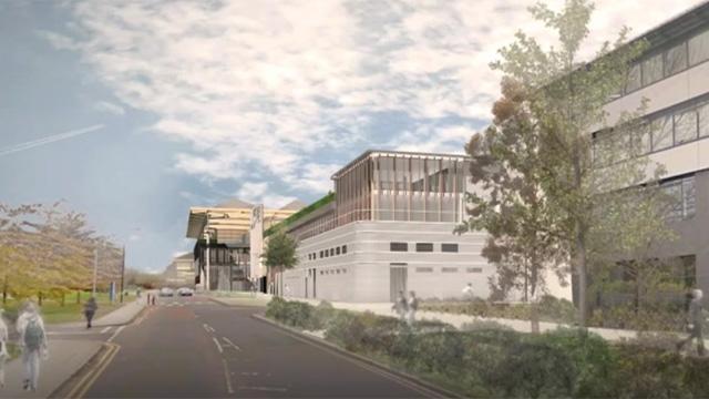 Artist's impression of National Automotive Innovation Campus