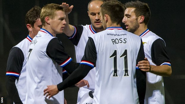 Billy McKay fired Inverness in front at Dens Park