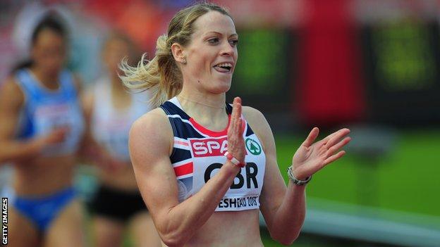 Eilidh Child will run the 400m hurdles for Scotland