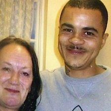 Pamela and Mark Duggan