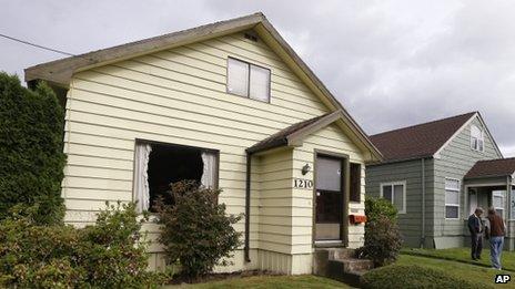 Kurt Cobain's old house