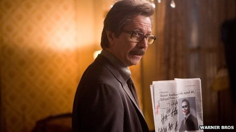 Gary Oldman as Commissioner Gordon in The Dark Knight (2008)