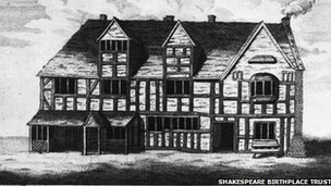 Picture of Shakespeare's house