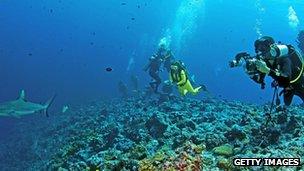 Scott Reef in Western Australia