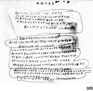 Ricky McCormick's notes