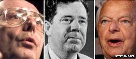 Alfonse D'Amato, Huey Long, Robert Byrd