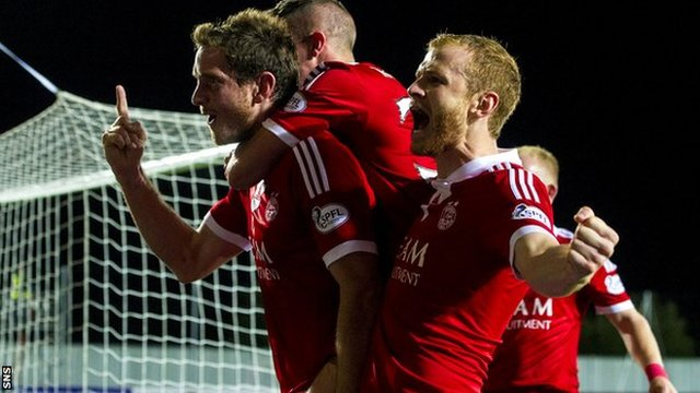 Highlights - Falkirk 0-5 Aberdeen