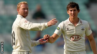 Gareth Batty and Zafar Ansari