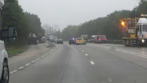 A303 crash, Thursday, 26 Sept 2013