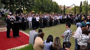 University opening in Kurdistan