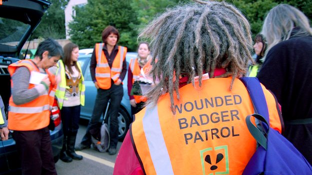 Wounded Badger Patrol gathering