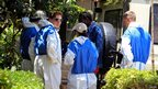 Forensics experts at Nairobi City Mortuary on 26 September 2013