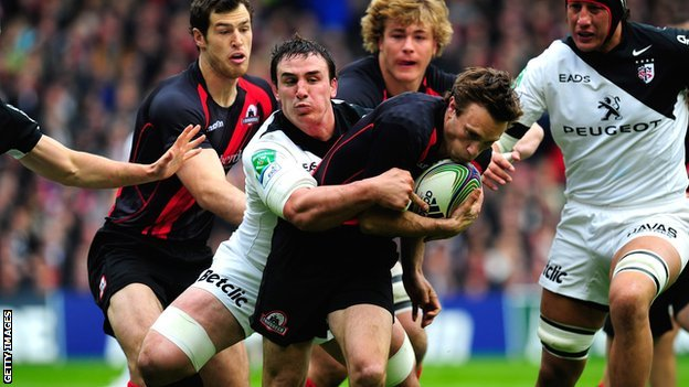 Edinburgh v Toulouse in the Heineken Cup