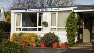 St Sampson's Infant School