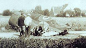 Lancaster bomber, Bassevelle, France