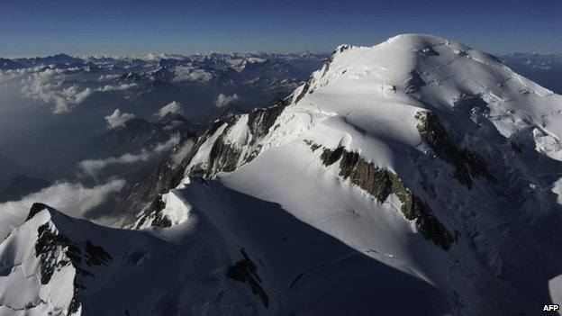 Mont Blanc. File photo