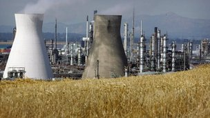 Ineos complex at Grangemouth