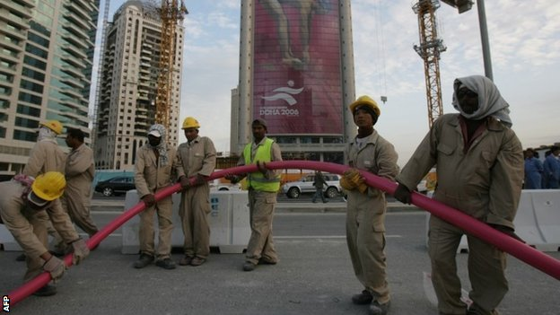 Qatar 2022 workers