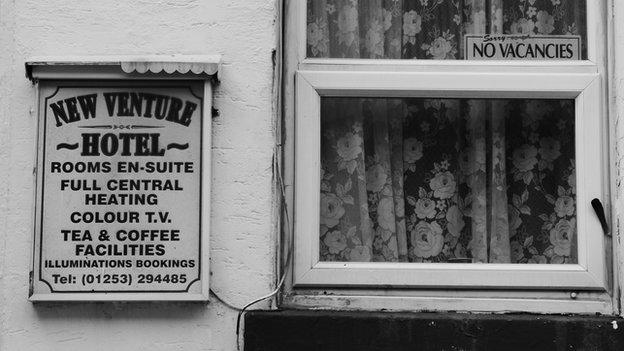 Blackpool hotel