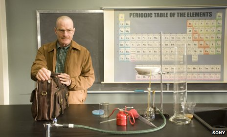 Walter White in the classroom