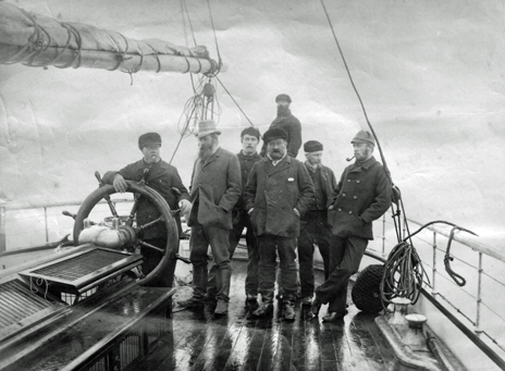 Crew of the Eira (photo copyright Scott Polar Research Institute, University of Cambridge)