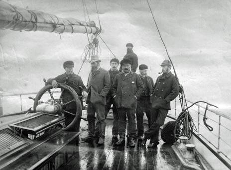 Crew of the Eira (photo copyright Scott Polar Research Institute, University of Cambridge)