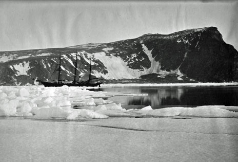 The Eira in Franz Josef Land (photo copyright Scott Polar Research Institute, University of Cambridge)