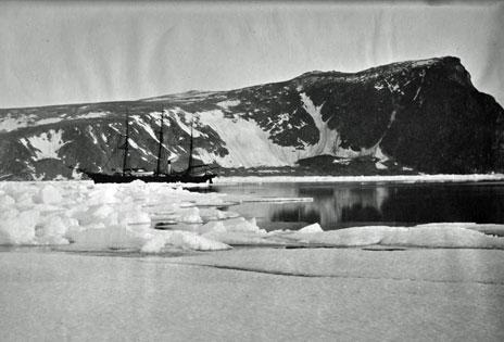 The Eira in Franz Josef Land (photo copyright Scott Polar Research Institute, University of Cambridge)