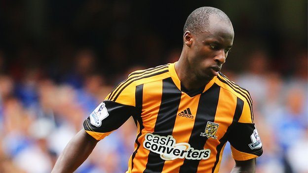 Nigeria and Hull City striker Sone Aluko