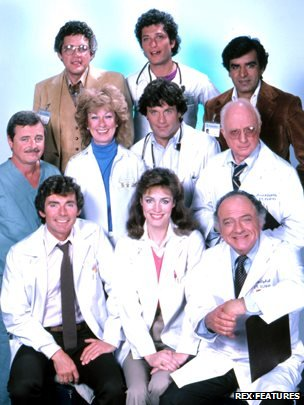 The cast of St Elsewhere