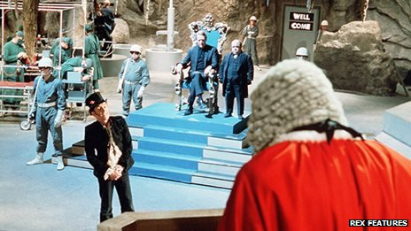 The final episode of The Prisoner