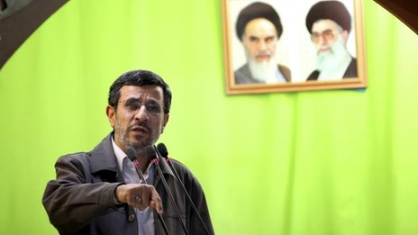 Mahmoud Ahmadinejad, 3 August 2013