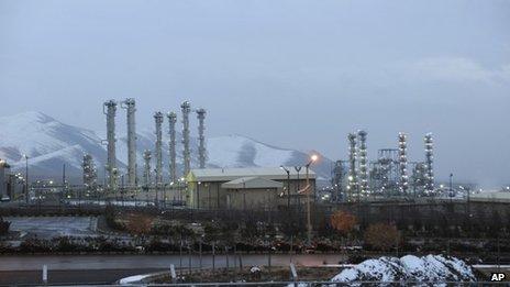 Iran's Arak heavy water nuclear facility