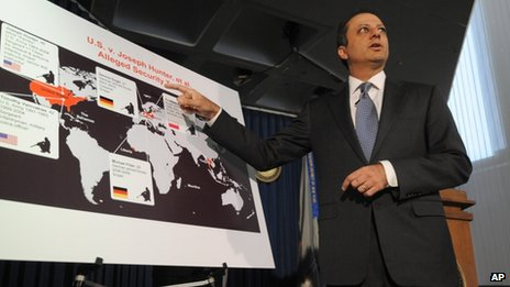 US Attorney for the Southern District of New York Preet Bharara speaks at a news conference on 27 September 2013