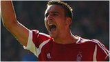 Nottingham Forest's Jack Hobbs celebrates his goal  against Derby