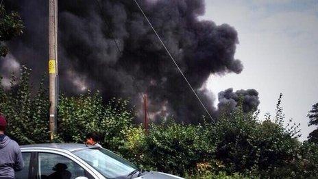 Foundry Lane, Horton fire