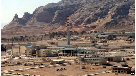 An aerial photo shows Iran's Uranium Conversion Facility, just outside the city of Isfahan, 410 kilometers south of the capital Tehran, Iran (30 March 2005)